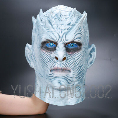Game of Thrones Night's King Film Halloween Mask Cosplay Maske Kostüm Costume
