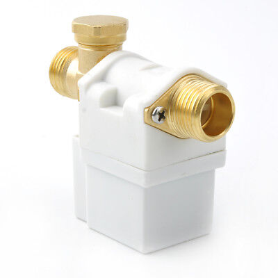 12 Electric Solenoid Valve For 12v Water Air Nc Normally Closed 0.02-0.8mpa