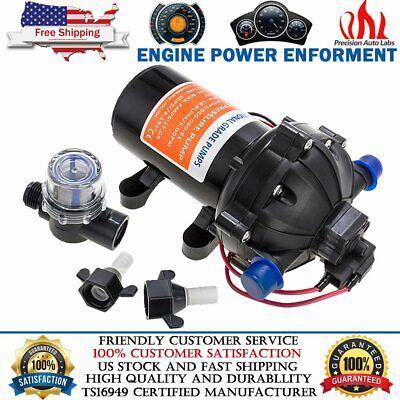 Dc 12v 60 Psi 5.0 Gpm Electric Diaphragm Water Pump Self Priming High Pressure