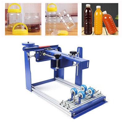 Screen Printing Press Kit Cylinder Screen Printing Machine Diameter 170mm New