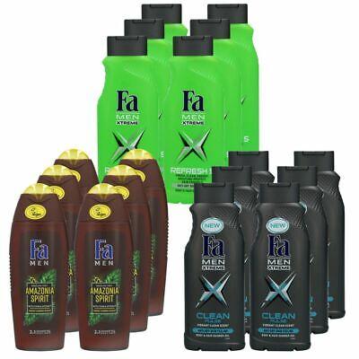 Fa Duschgel 6 x 400 ml Shower Gel For Men - Verschiedene Sorten frei wählbar