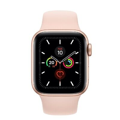 Apple Watch Series 5 GPS+Cellular 40mm Dorado Aluminum Caja Rosa Sport Band
