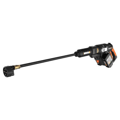 Worx Hydroshot 20v Cordless Power Washer Pressure Cleaner With Batteries Used