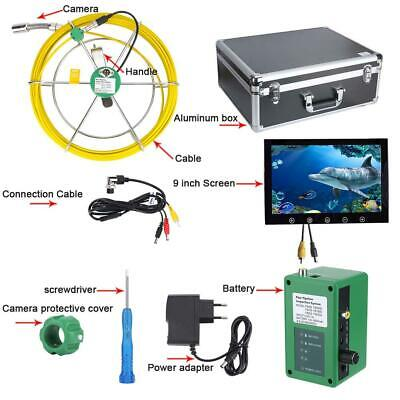 40m Drain Pipe Sewer Inspection System Pipe Inspection Video Camera 6w Led Light