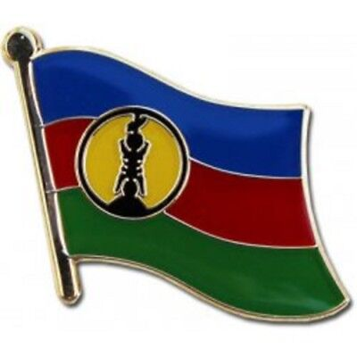 Wholesale Pack of 50 New Caledonia Country Flag Hat Cap lapel Pin