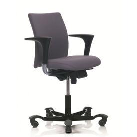 HAG H04 4200 (Low back) Ergonomic Office Chair LUXURY model, slightly used