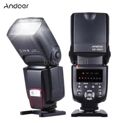 Andoer Wireless Flash Speedlite LED Fill Light for Nikon Canon Pentax SLR Camera