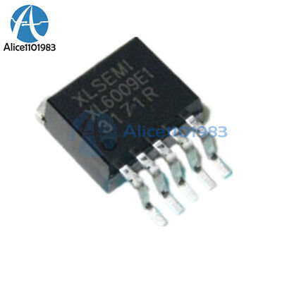 2pcs Xl6009e1 Dc-dc Adjustable Step-up Boost Ic Chip 42v4a400khz To-263 Ic