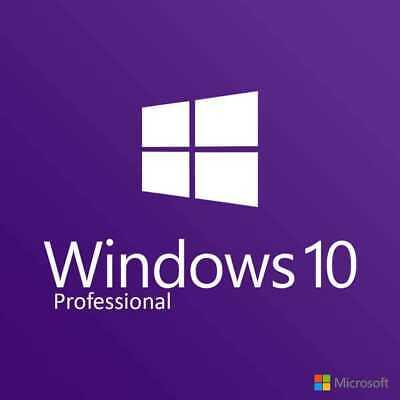 Microsoft Windows 10 Pro. Digital Key. Instant Delivery. 32/64 bit