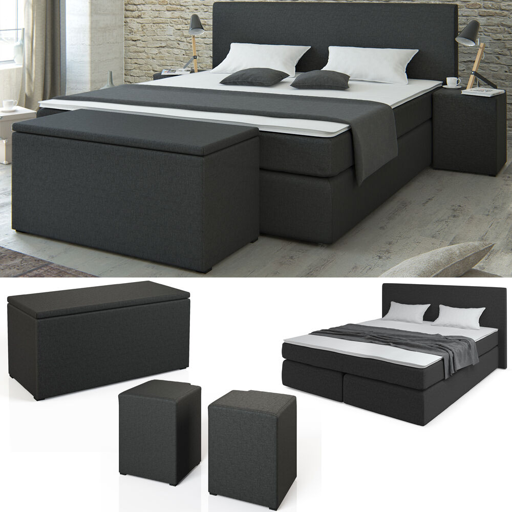 doppelbett boxspringbett test vergleich doppelbett. Black Bedroom Furniture Sets. Home Design Ideas