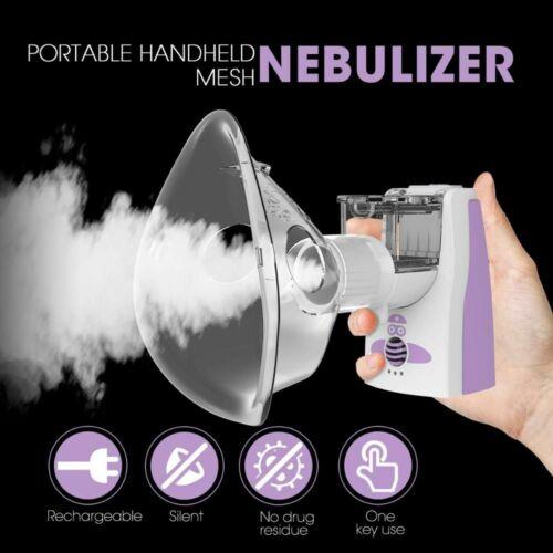 Medical Equipment Nebulizador USB Rechargeable Asthma Inhaler for Children Adult