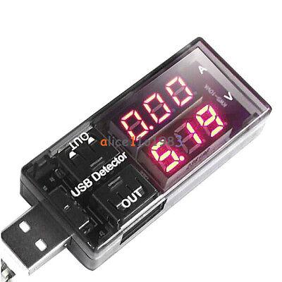 Doctor Current Voltage Charging USB Charger Detector Battery Ammeter Voltmeter