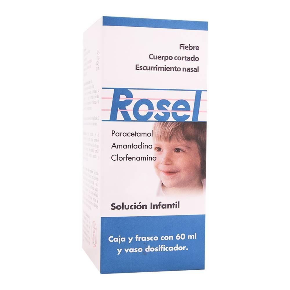ROSEL Children's Cold Fever~Quality OTC Medicine~60 ml