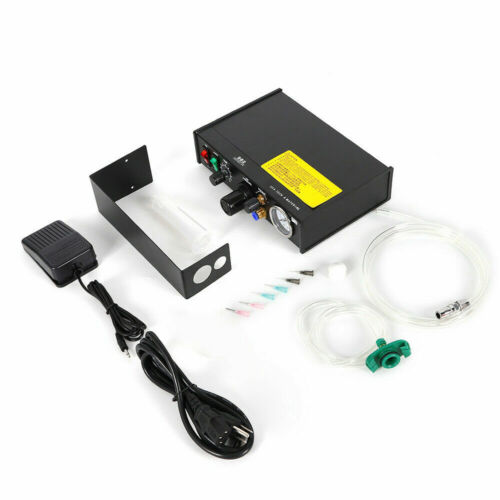982 Glue Dispenser Controller Semi-Auto Solder Paste Liquid Dispensing Machine