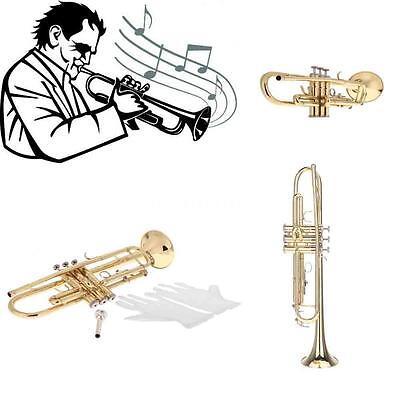 NEU Bb B-Trompete + Mundstück Versilbert