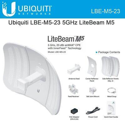 Ubiquiti LBE-M5-23 LiteBeam M5 23dBi AirMax CPE INTL Version.