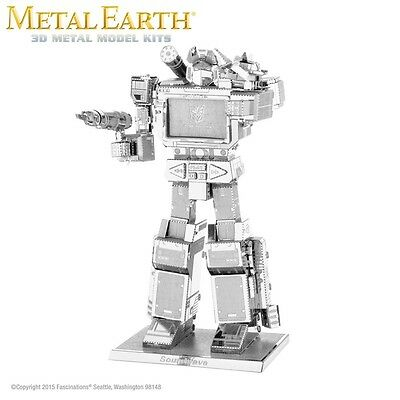 Fascinations Metal Earth Soundwave Transformers Laser Cut 3D Model