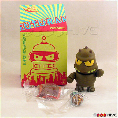 Kidrobot Futurama collection Lrrr and Fishy Joe's vinyl 3-inch figure series 1