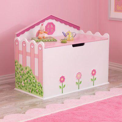 KidKraft Dollhouse Toy Box - 76258, Pink