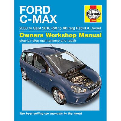 Ford C-Max 1.6 1.8 2.0 Petrol 1.6 1.8 2.0 Diesel 03-10 (53-60 Reg) Haynes Manual