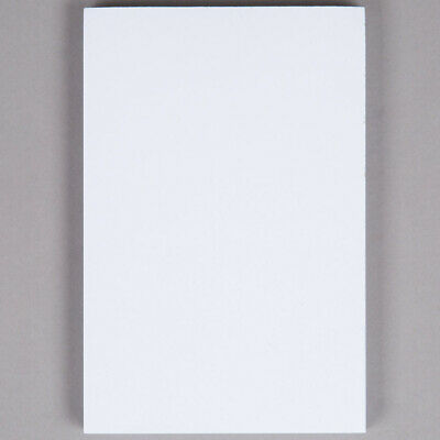 Netko White Plain Notepads 100 Sheets Blank Memowriting Pads4 X 6 2 Pack