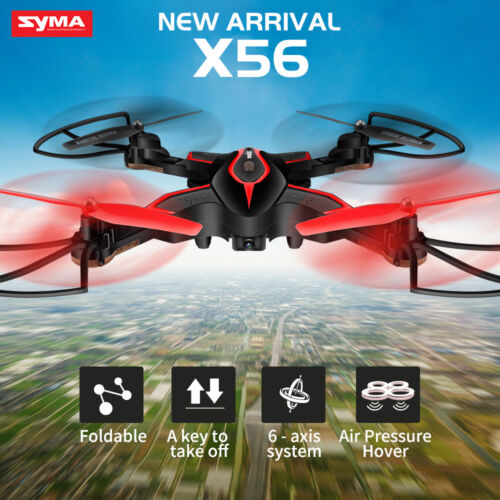 Newest Syma X56 RC Drone with Hover Foldable RC Quadcopter Headless 6-Axis Gyro