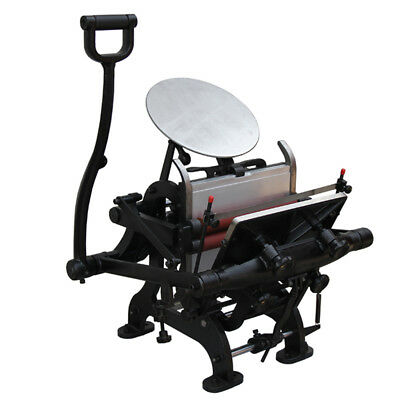 Brand New 7.5 X 9.9 Manual Letterpress Printing Machine With Plate Bed