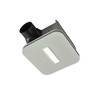 NuTone Easy to Install 80 CFM Bathroom Exhaust Fan w LED Clean Cover