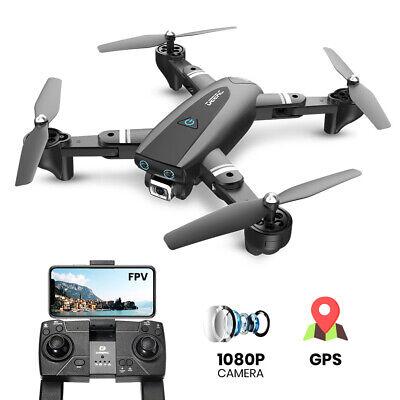 1080P GPS Drohne mit HD Kamera Faltbar 2.4G RC Quadrocopter FPV Hubschrauber