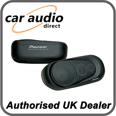 Pioneer TS-X150 3-Way Coaxial Speakers 60W Car Van Surface Mount Shelf Speakers