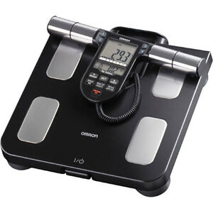 Omron HBF-516B Full-Body Sensor Body Composition Monitor & Scale - Black