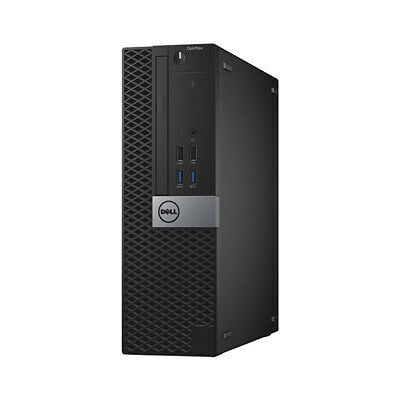 DELL Core i5 6th Gen SFF Desktop PC 16GB RAM 512GB SSD...