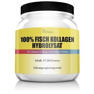 100% Fisch Kollagen Hydrolysat Haut Bingewebe Gelenke & Knorpel Marine Collagen