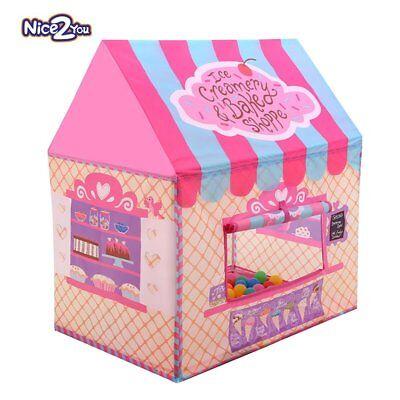 Tenda da gioco Tenda per bambini Principessa Castello per uso interno e (R0M)