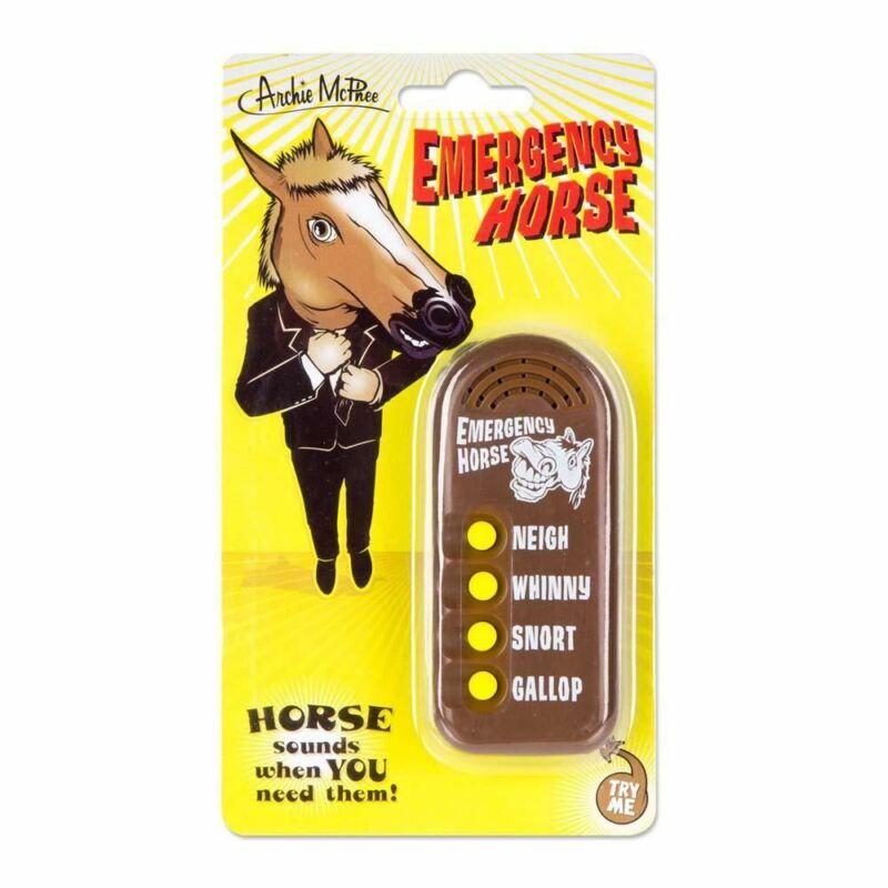 Emergency Horse Button