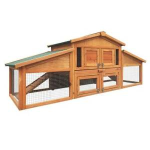 Chicken Coop Huge Upper and Lower Areas Easy Access Doors Waterproof Q Kings Beach Caloundra Area Preview