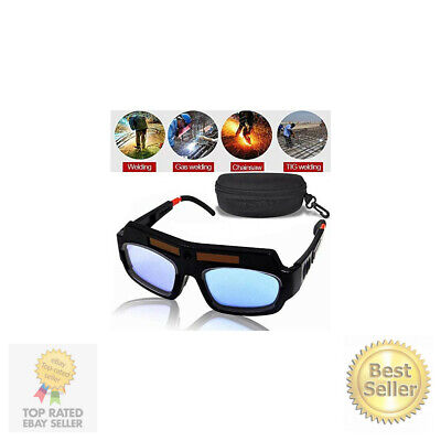 Leatbuy Welding Glasses Mask Helmet Eyes Goggles Solar Auto Darkening Welding...
