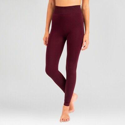 Wander by Hottotties Women's Velvet Leggings - Purple, Large