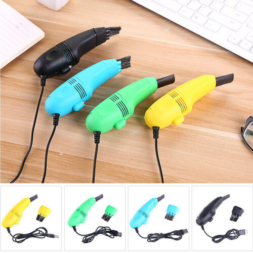 PC Laptop Brush Computer Vacuum USB Keyboard Cleaner Dust Cleaning Tools