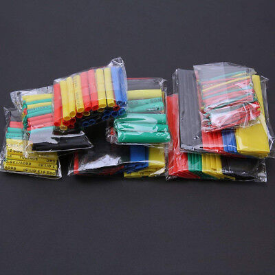 328pcs Heat Shrink Tube Insulation Shrinkable 21 Wire Cable Sleeve Kit 8 Size