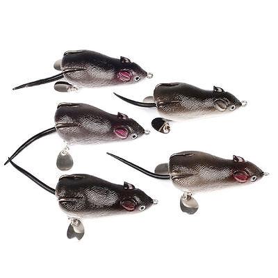 5pcs Splash Down Fishing Bait Clip Locking Lock Lure Hook Fishhook Detacher