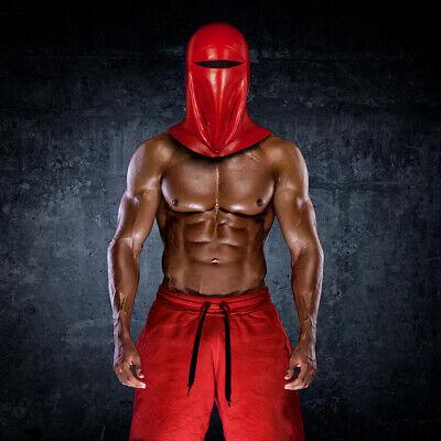 Best Star Wars Emperor's Royal Guard Mask Halloween Cosplay Prop Red Full Helmet (Best Man Halloween Costumes)