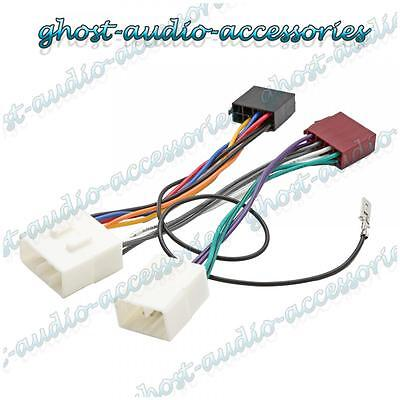 ISO Wiring Harness Connector Adaptor Stereo Radio Lead loom for Mazda Premacy