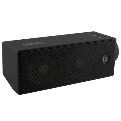 NINETEC SoundBoost Bluetooth Lautsprecher Speaker Sound Box Micro SD AUX Black 2 ()