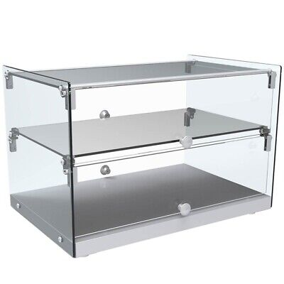 Marchia Sa50 22 Straight Glass Countertop Dry Display Case For Bakery Or Deli