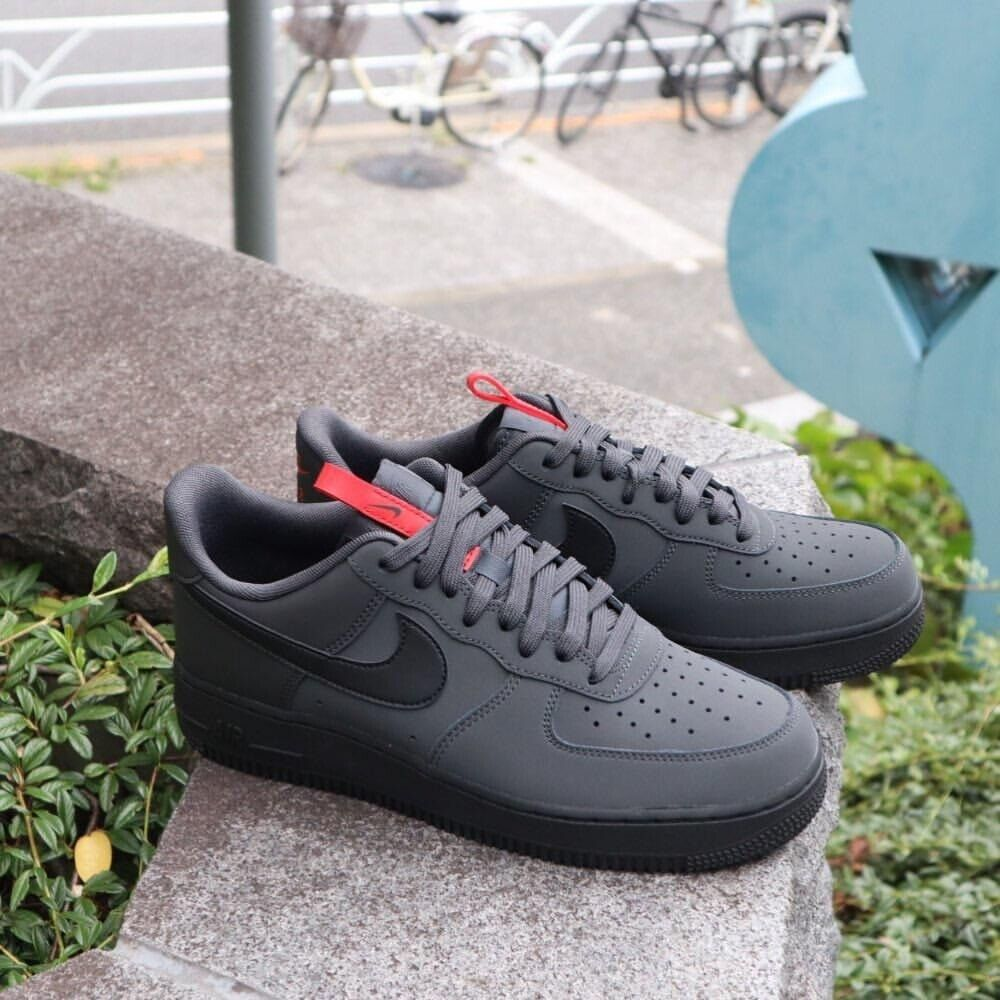 Nike Air Force 1 Low (Anthracite, Black
