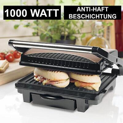 Contacto Mesa Parrilla Cobre Diseño Electro Panini Sandwich Maker 1000W