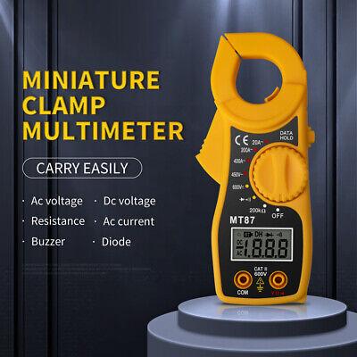 Upgrade Digital Clamp Multimeter Ac Dc Voltmeter Auto Range Volt Ohm Amp Tester