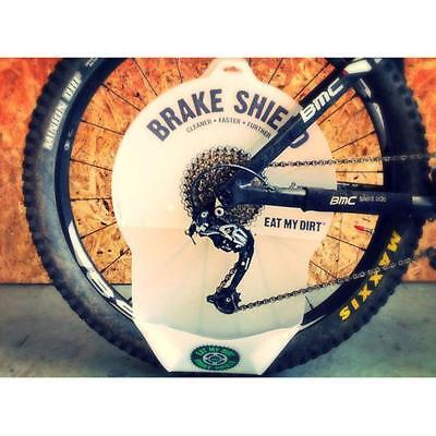 Freno Escudo Piñones Bicicleta Cadena y Limpieza Disco de Freno Protector