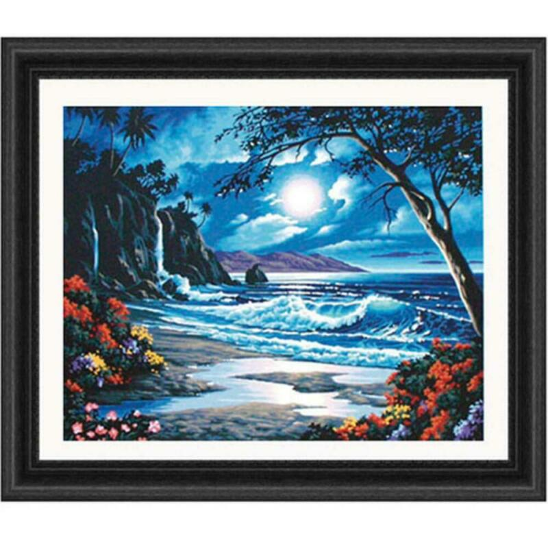 Paintworks® Moonlit Paradise Paint-by-Number Kit
